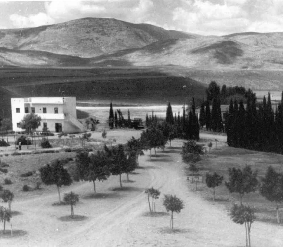 בית נוער ד_ 1940-42 כיום הנהלת החשבונות